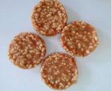 Snack van de Kat van de Plakken van de Vorm van het Been van Food&Snack van de Hond van de Stok van de Ongelooide huid van de Omslag van de kip de Droge