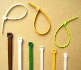 China-Lieferanten-niedriger Preis-Nylonkabelbinder, Gummikabelbinder-Größen, abwerfbarer Plastikkabelbinder mit Kennsatz