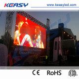 단계 사건을%s 스크린을 광고하는 P4.8 옥외 임대료 LED