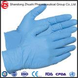 Blaue Schwarz-Handschuh-, industrielle und medizinischeprüfung-Grad-Nitril-Wegwerfhandschuhe, Nahrungsmittelkontakt-Nitril-Handschuhe