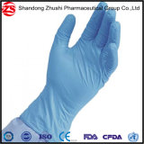 Bleu de Travail médicaux jetables Gants en nitrile non poudrés