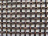 ステンレス鋼の装飾的のためのひだを付けられた金網