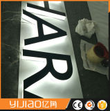 Lettre de signe attrayant Logo 3D en acrylique