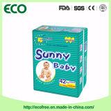 Couche de bébé de qualité supérieure Sunny A Grade avec super absorption