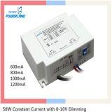 50W 0.6A/0.8A/1A/1.2A Dimmable LED Fahrer 5 Jahre Garantie-