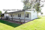 Сборные роскошь стальные конструкции дома (KXD комплекта-SSB76)