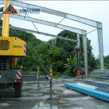 Magazzini prefabbricati chiari della struttura d'acciaio/magazzino d'acciaio liberato di/deposito
