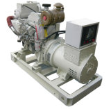 40kVA~1100kVA certifiés du SCCC Groupe électrogène diesel marin Cummins avec échangeur de chaleur