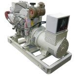 40kVA~1100kVA CCS zugelassenes Cummins MarinedieselGenset mit Wärmetauscher