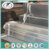 Tubo de acero galvanizado sumergido caliente redondo y cuadrado de carbón del hierro