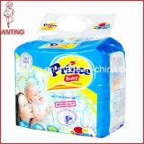 Couche-culotte jetable non-tissée de tissu de bébé