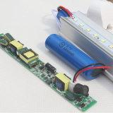 Свет пробки пробки T8 алюминия +PC перезаряжаемые СИД интегрированный непредвиденный