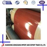 Bobina d'acciaio galvanizzata preverniciata materiale d'acciaio di PPGI per tetto