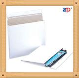 Marron/Blanc gousset Papeboard Mailers Paquet enveloppe Bookle/Photos