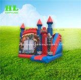 Het Springen van Bouncy van het Spel van het Stuk speelgoed van de dinosaurus Kasteel Opblaasbare Combo