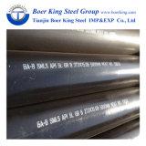 ASTM A106/A53 Grau B 3 polegada Sch40/80 tubo sem costura de aço de carbono