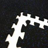 Canto, Fronteira, Centro, tipo de piso de borracha do intertravamento de mosaico de Borracha