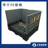 Feste Wand-zusammenklappbarer selbstbewegender Schüttgutcontainer mit Kappe