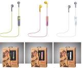 Receptor de cabeza estéreo del auricular de Bluetooth del deporte sin hilos