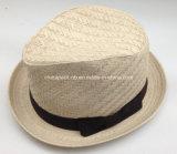 Nuevo modelo 2016 Spring Fedora sombreros de paja de papel (CPA_60240)