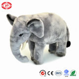 Standing Grey Giant Soft Stuffed Plush Elephant Soft En Toy