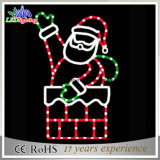 Свет мотива Santa Claus рождества СИД 2D вися
