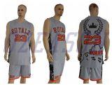 Forma mais o basquetebol Jersey do Sportswear do tamanho com alta qualidade