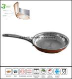 De tri Pan Cookware van het Roestvrij staal van het Koper van de Vouw