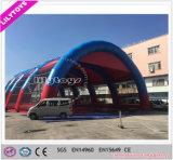 Tenda gonfiabile gigante personalizzata del carbonile della tela incatramata per il gioco di sport