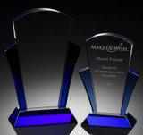 Concesión del trofeo del vidrio cristalino de la venta al por mayor de la fábrica de China