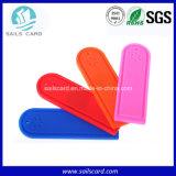 의복 관리 실리콘 RFID 세탁물 꼬리표