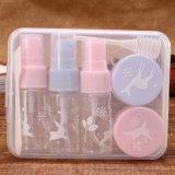 洗面用品15ml装飾的な包装ペットびんキットペット旅行びん(PT08)