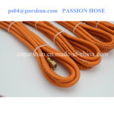 ISO 3821 Pression de service de 1/4 po pouces 20 Bar Tubes à gaz en caoutchouc orange