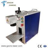 ラベルの作成のための携帯用20W 30W 50Wの金属のファイバーレーザーのマーキング機械