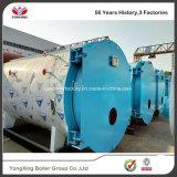 Gas horizontal del estilo del vapor del paso rápido de la generación 3 y precio de fuel de la caldera de vapor