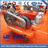 V-Belt di alta qualità W3118 & compressore d'aria diesel del pistone portatile della frizione con l'impianto di perforazione di trivello di DTH per estrazione mineraria