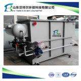 Estação de tratamento de esgotos para remover o óleo, graxa e sólidos suspensos