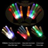 Halloweenの党のライトが付いているLEDの手袋のSlepwel手の手袋