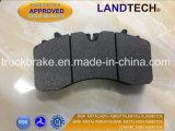 상업용 차량 디스크 브레이크 패드 Wva 29165, 29215, 29268 Eurotek