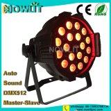 Iluminación de escenarios 18 uds. de 10W RGBW 4en1 LED de luz PAR