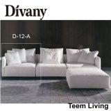2016 새로운 수집 Divany 수집 D-12 현대 수집 최신 판매 최고 염 고품질 거실 가구 소파