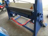 1.5mm x 2000mm casella & dispositivo di piegatura del manuale del freno della vaschetta