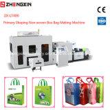 Zx-Lt400 preliminar dando forma ao saco não tecido da caixa que faz a máquina