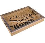 La decoración de madera de calidad alimentaria trabaja al servicio de las bandejas con mejor calidad