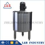 Réservoir de mélange de chauffage électrique d'acier inoxydable de catégorie comestible