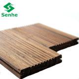 Suelo de bambú impermeable con el suelo de bambú tejido hilo