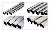 316 tubes plats de tube de place d'acier inoxydable/rectangulaires