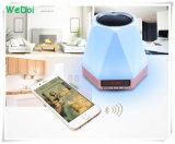 De nieuwe Multifunctionele Draadloze Spreker Bluetooth van de Wekker met LEIDEN Licht (wy-SP03)