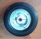 Orlo di plastica della rotella di gomma solida per i carrelli 6 pollici
