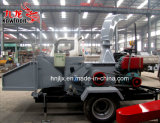 移動可能なディーゼル機関の木製の砕木機